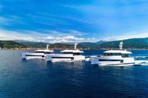 The Sundeck Yachts' fleet