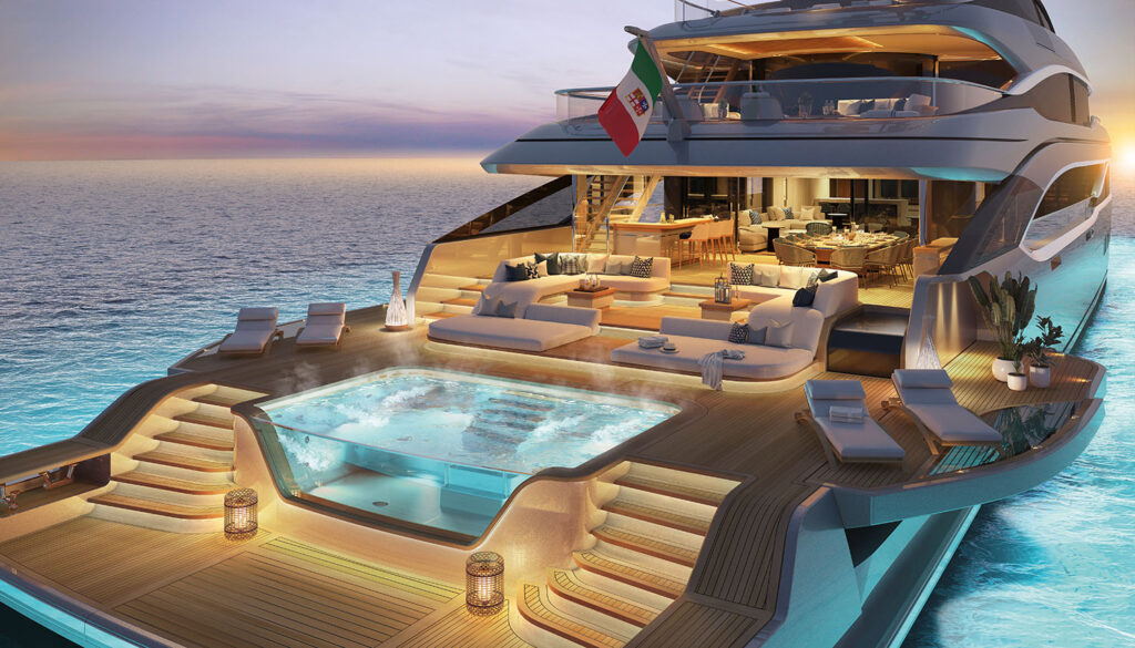 THE BENETTI OASIS DECK™ RESHAPES THE SUPERYACHT WORLD BY CREATING A NEW LIFESTYLE!
