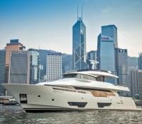 Custom Line Navetta 28 Debuts in Hong Kong