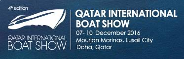 Azimouthio Yachting Info dir, web banner for Qatar International Boat Show | DEC 2016