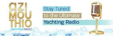 Azimouthio Yachting Radio banner
